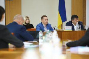 Проводится семинар — практикум для руководителей аппаратов областных советов в городе Одесса